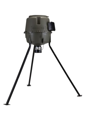Check Out This Moultrie 30-Gallon Easy Fill Feeder with Quick-Lock Hopper
