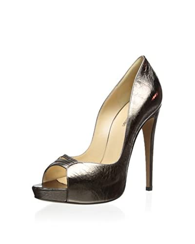 Alexandre Birman Women's Open Toe Platform Pump
