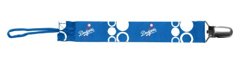 Baby Fanatic Pacifier Clip, Los Angeles Dodgers front-994028