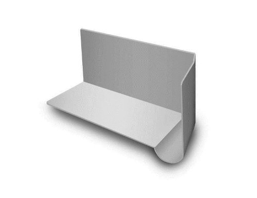 Gray Right, Raintek Universal Water Diverter Kickout Roof and Wall Intersection Flashing System