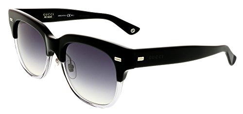 Gucci Sunglasses - 3744 / Frame: Black Gray Black Lens: Dark Gray Gradient