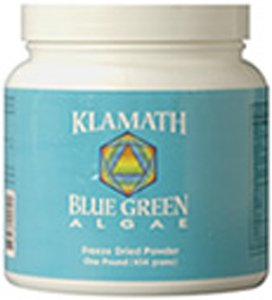 KLAMATH BLUE-GREEN ALGAE Klamath Blue-Green Algae Powder 1 LB