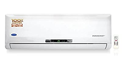 Carrier 12K Duraedge K+ Split AC (1 Ton, 2 Star Rating, White)