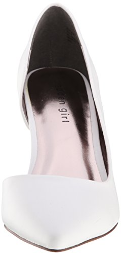 887865302971 - Madden Girl Women's Kopykat Dress Pump, White Paris, 8 M US carousel main 3