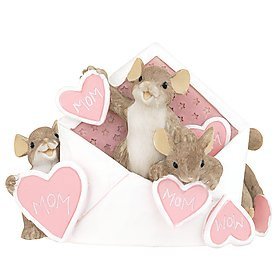 """THERE/'S NO /""""US/"""" WITHOUT /""""U/"""" CHARMING TAILS RETIRED~NEW IN BOX~FREE SHIPPING US"""