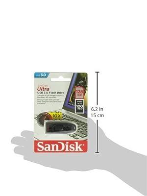 SanDisk CZ48 128GB USB 3.0 Flash Memory Drive (SDCZ48-128G-U46)