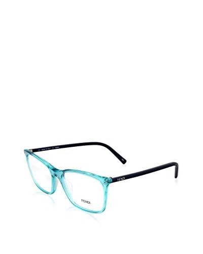 Fendi Women's F946 Eyeglasses, Translucent Azure