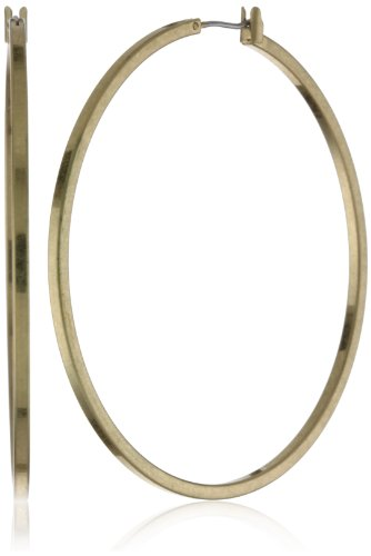 Kenneth Cole New York Gold-Tone Medium Hoop Earrings
