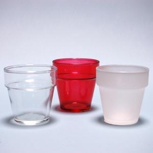 Amazon.com: Clear Glass Flower Pot Votive Candle Holders ...