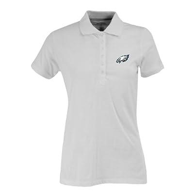 NFL Women's Philadelphia Eagles Spark Short Sleeve Polo