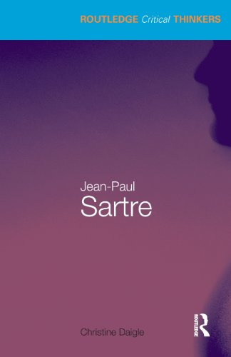 Jean-Paul Sartre (Routledge Critical Thinkers)