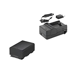 Samsung HMX-H300 Camcorder Accessory Kit includes: SDIABP210E Battery, SDM-1524 Charger