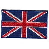 Union Jack Iron On Patch