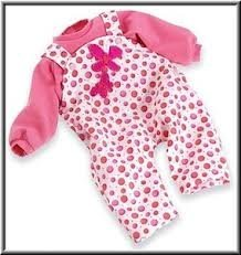 "Bouncy Butterflies Outfit For 17"" Playbabies front-398222"