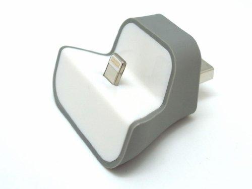iPhone6 / iPhone5s / iPhone5c / iPhone5 / 第5世代iPod touch など対応 ミニサイズLightningチャージングドック Dock it