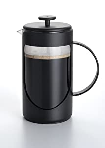 BonJour Coffee Ami-Matin 3-Cup French Press, Black