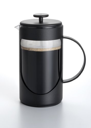 Bonjour Coffee Ami-Matin 3-Cup French Press, Black front-238917