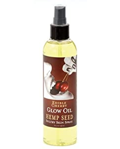 Edible Glow Oil - 8 oz Cherry