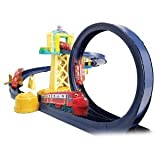 Chuggington Training Yard Playset with Motorized Loop - Includes die cast Wilson Train and Vee Figure