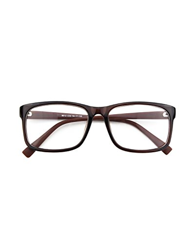 cgid-cn12-casual-fashion-basic-square-frame-clear-lens-eye-glassesbrown