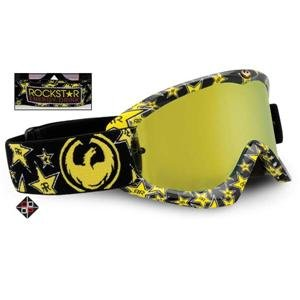 Dragon MDX Rockstar Goggles - One size fits most/Rockstar/Gold Ionized