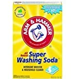 Church & Dwight Co 03020 Arm & Hammer Super Washing Soda 55 oz.-Super Pack-Pack of 4