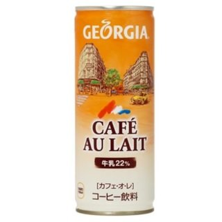 [Another postage] Coca-Cola Georgia cafe au lait (250g cans X30 present) X3 Case (Georgia Coffee compare prices)