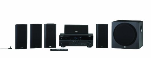Yamaha Yht799Ubl High Quality Durable 115W 5.1 Channel Usb Home Theater