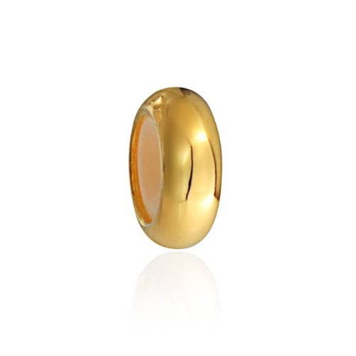 Bling Jewelry Gold Vermeil Rubber Spacer Stopper Bead Pandora Compatible
