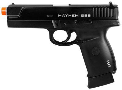 GameFace Mayhem GBB Blowback Airsoft Pistol