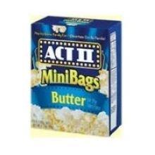 Act II Mini Bag Microwave Butter Popcorn