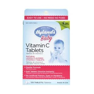 Amazon Com Hyland S Baby Vitamin C Tablets 125 Count