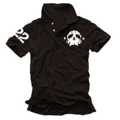 Coole-Fun-T-Shirts - skull 22, Polo da donna, nero (black), M