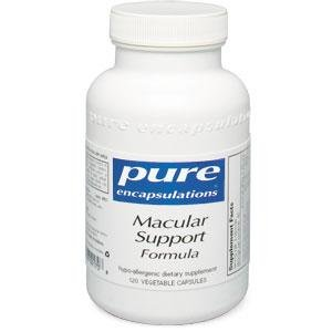 Pure Encapsulations - Macular Support Formula 120 Vcaps
