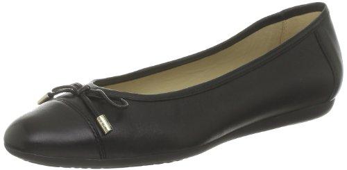 Geox D LOLA S Ballet Flats Womens Black Schwarz (BLACK C9999) Size: 3.5 (36 EU)