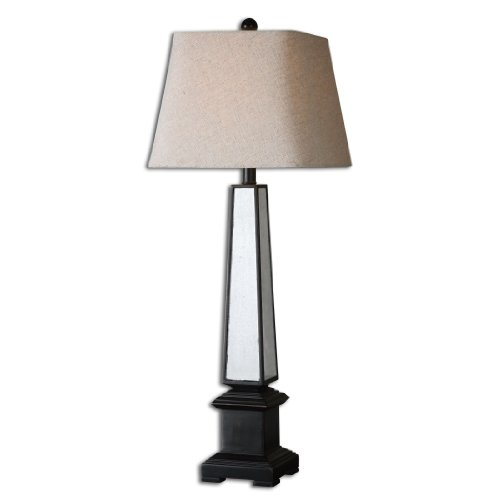 Uttermost 29578 Varick Antiqued Mirror Lamp front-1065770