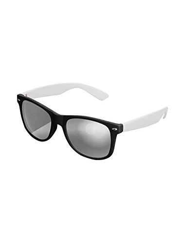 Masterdis Mstrds Shades Likoma Mirror Sunglasses UV400 Occhiali da Sole Specchiati Colore black/white/silver