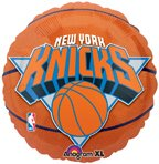 "Anagram International New York Knicks Flat Party Balloons, 18"", Multicolor"
