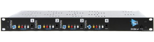 API 3124+ Discrete 4-Channel Microphone/Line Preamplifier