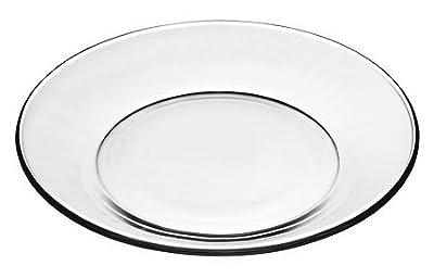 Libbey Crisa Moderno Glass Salad/Dessert Plate