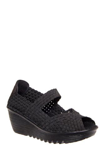 Bernie Mev Halle Mid Wedge Shoe