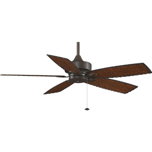 Fanimation Cancun 52 Inch Outdoor Ceiling Fan - Oil Rubbed Bronze