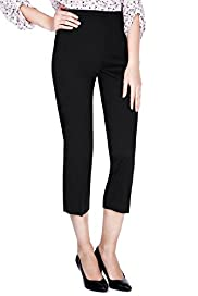 Cotton Rich Stretch Cropped Trousers