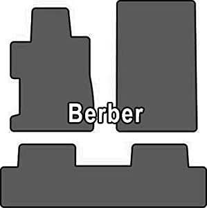 2003-2005 Honda Civic 4 Door Berber 2 Pc Front w/1 Pc 2nd Seat Car Mat Berber Cruiser Mat Color: Black
