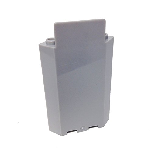 Lego Parts: Panel 3 x 3 x 6 Corner Wall without Bottom Indentations (LBGray) - 1