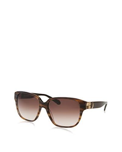 Balmain Women's BL2045 Sunglasses, Striped Brown