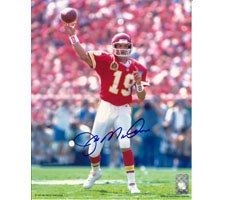 Joe Montana Autographed Hand Signed Photo Kansas City Chiefs 16x20 #1076 by Hall of Fame Memorabilia