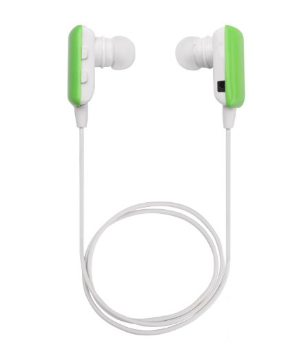 Senbowe™ Mini Green Wireless Stereo Bluetooth Headset Headphone Earphone Earpiece Earbud With Microphone Mic, A2Dp, Noise Cancellation, Music Remote Control, Great Compatible With Ipad 1/2/3, New Ipad, Ipod And Samsung Galaxy S2/S3/S4/S5 And Apple Iphone