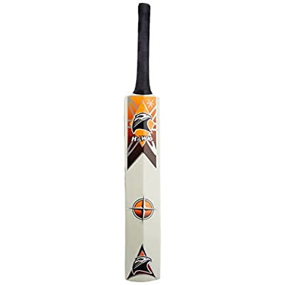 Hawk Supreme Popular Willow Cricket Bat, Size 5 (Orange)