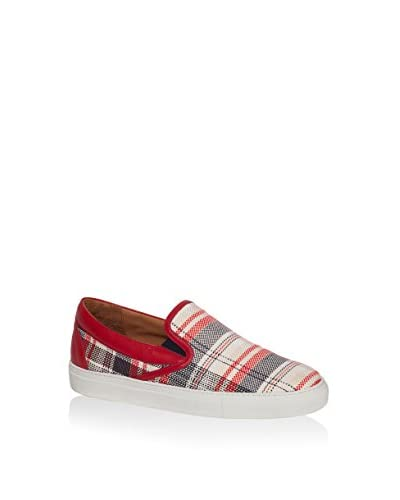 Pollini Slip-On Rojo / Blanco
